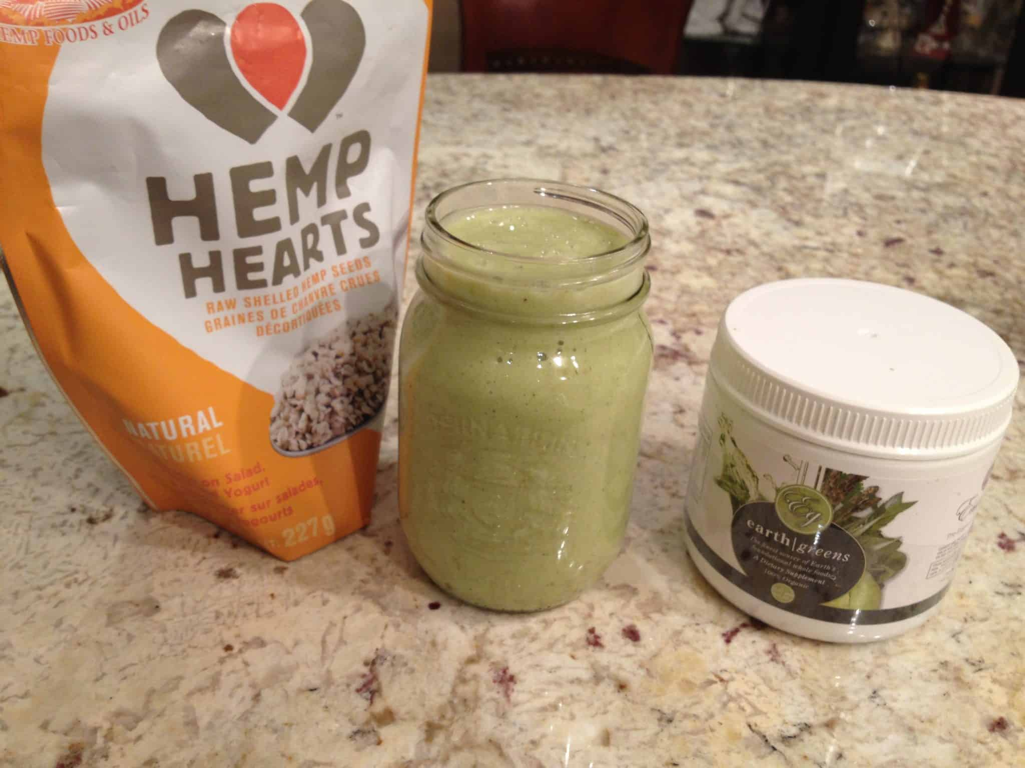 Day 12 – Mango Cilantro Detox Smoothie