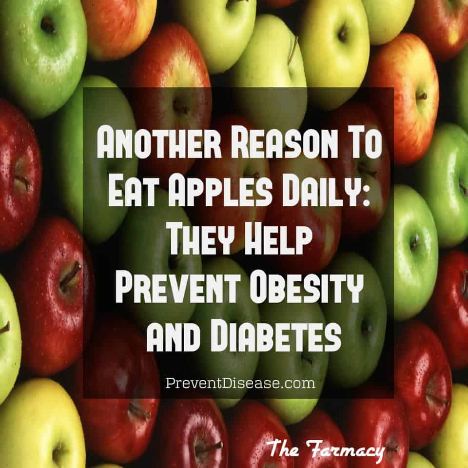 An Apple a Day Really Does Keep the Doctor Away!