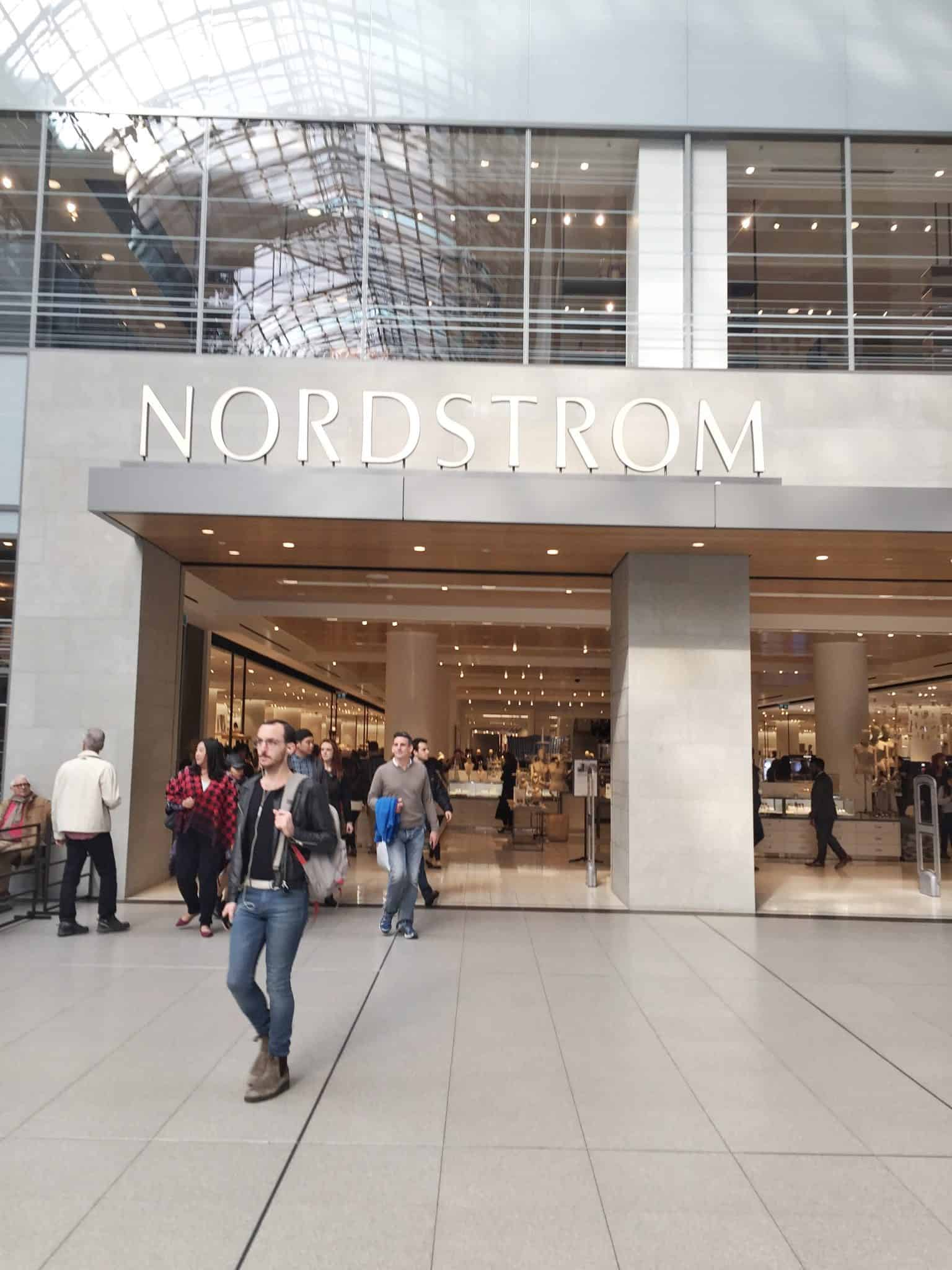 Our Visit to Nordstrom Toronto Eaton Centre