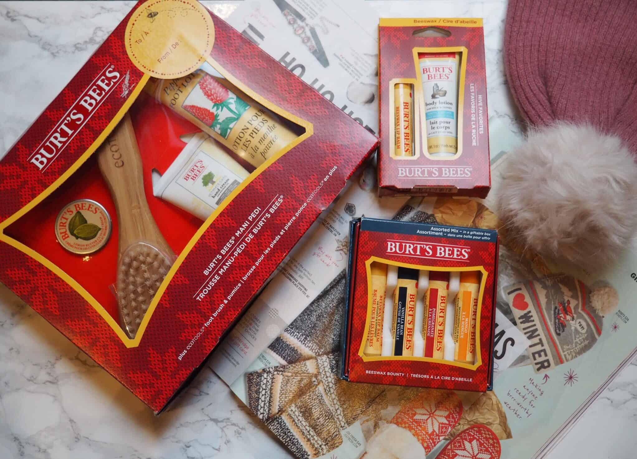 Burt's Bee's Holiday Gift Packs