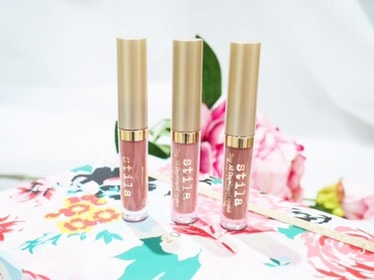 How to Get a Naturally Nude Lip With Stila Cosmetics Stay All Day Liquid Lipstick Set