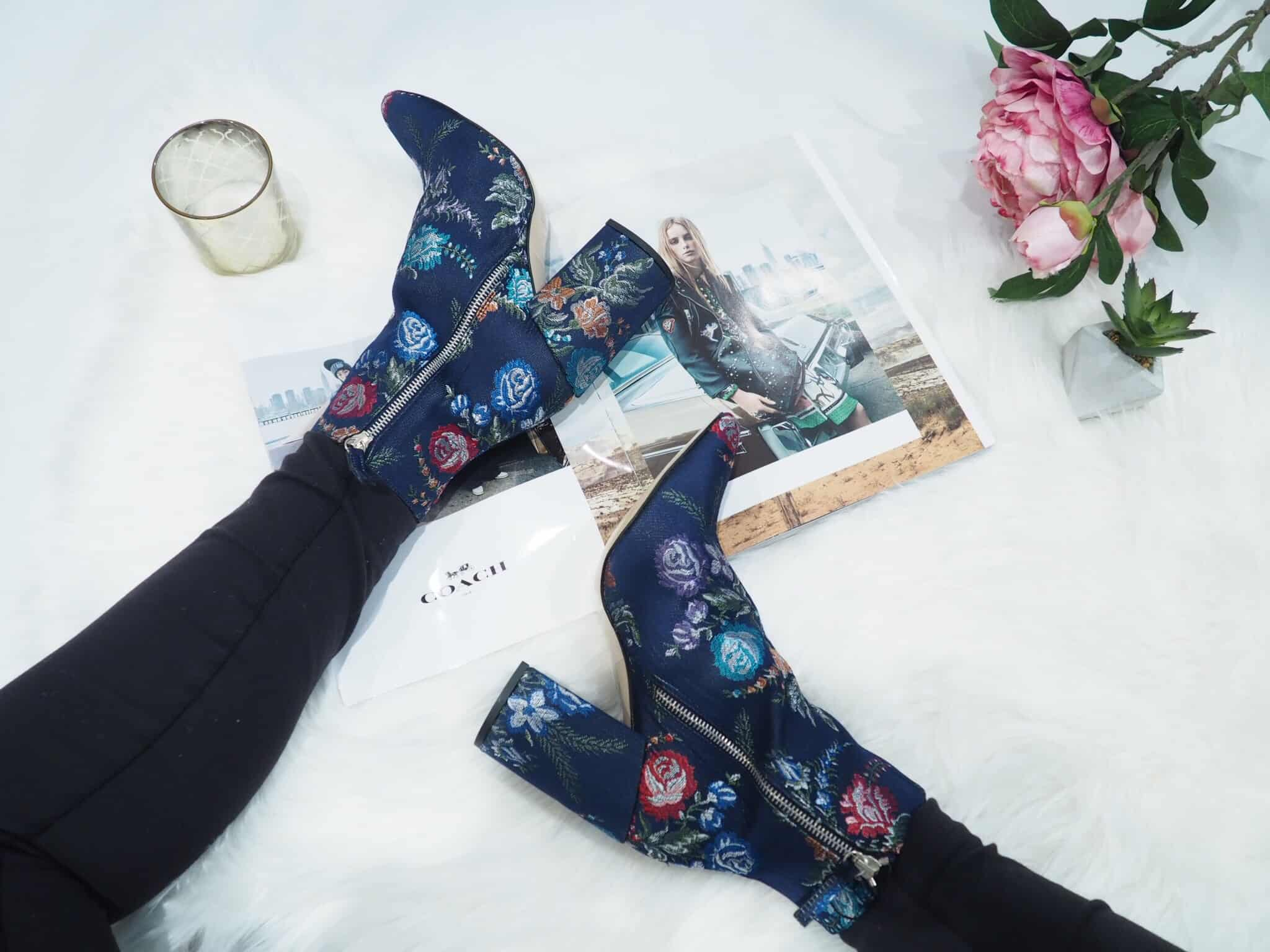What Do You Think of My Zara Floral Boots