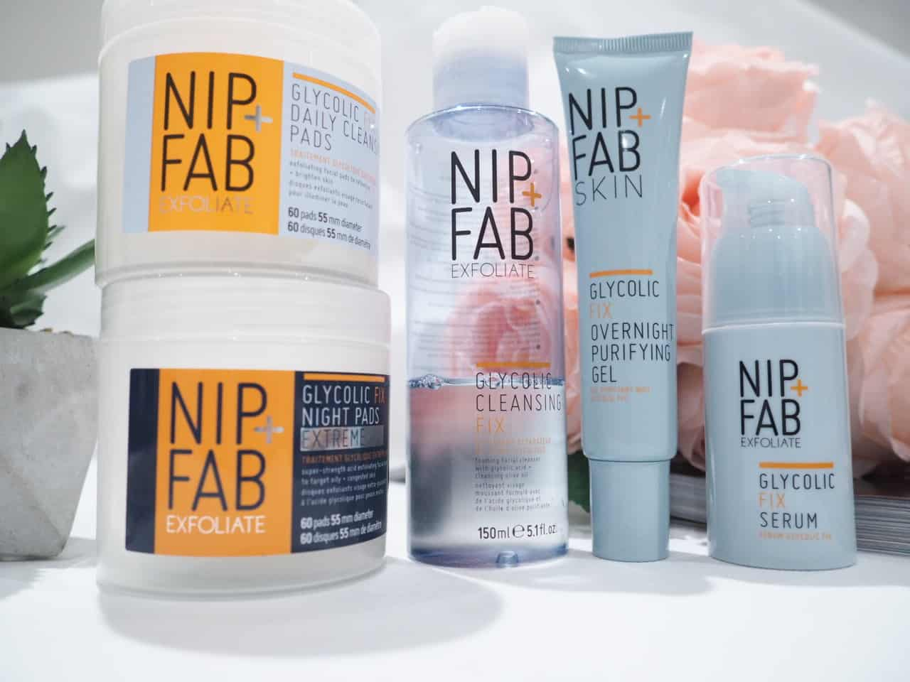 Nip+Fab Glycolic Fix Skincare Review