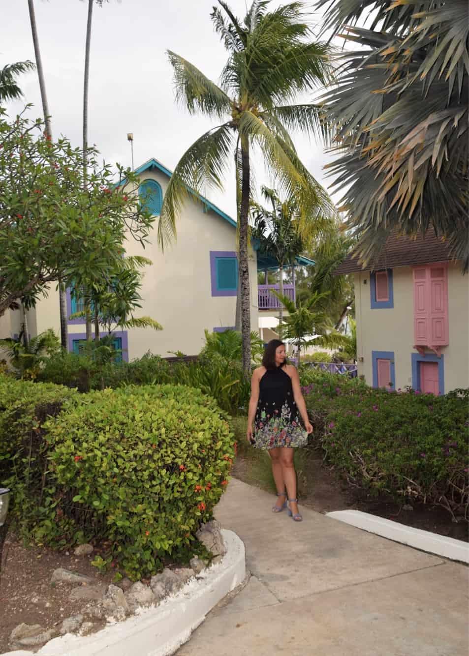 Tropical Dress for an Island Getaway