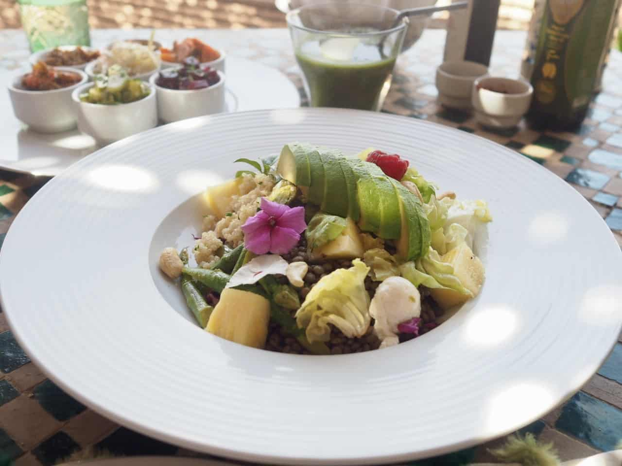 Lunch at La Sultana Hotel Marrakech