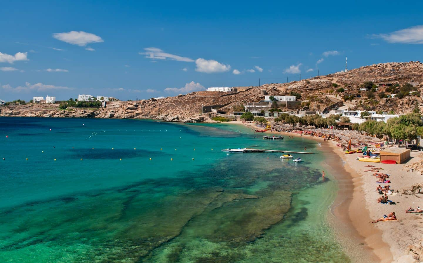 Paradise Beach best mykonos beaches