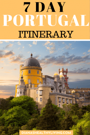 ONE WEEK IN PORTUGAL ITINERARY