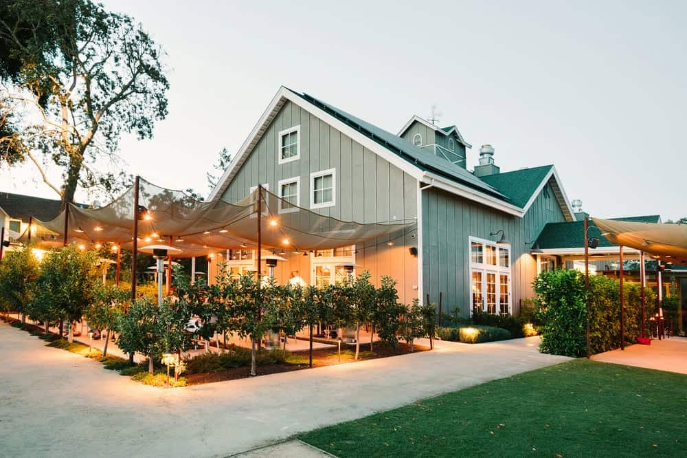 Dinner at Long Meadow Ranch – Napa Valley, California
