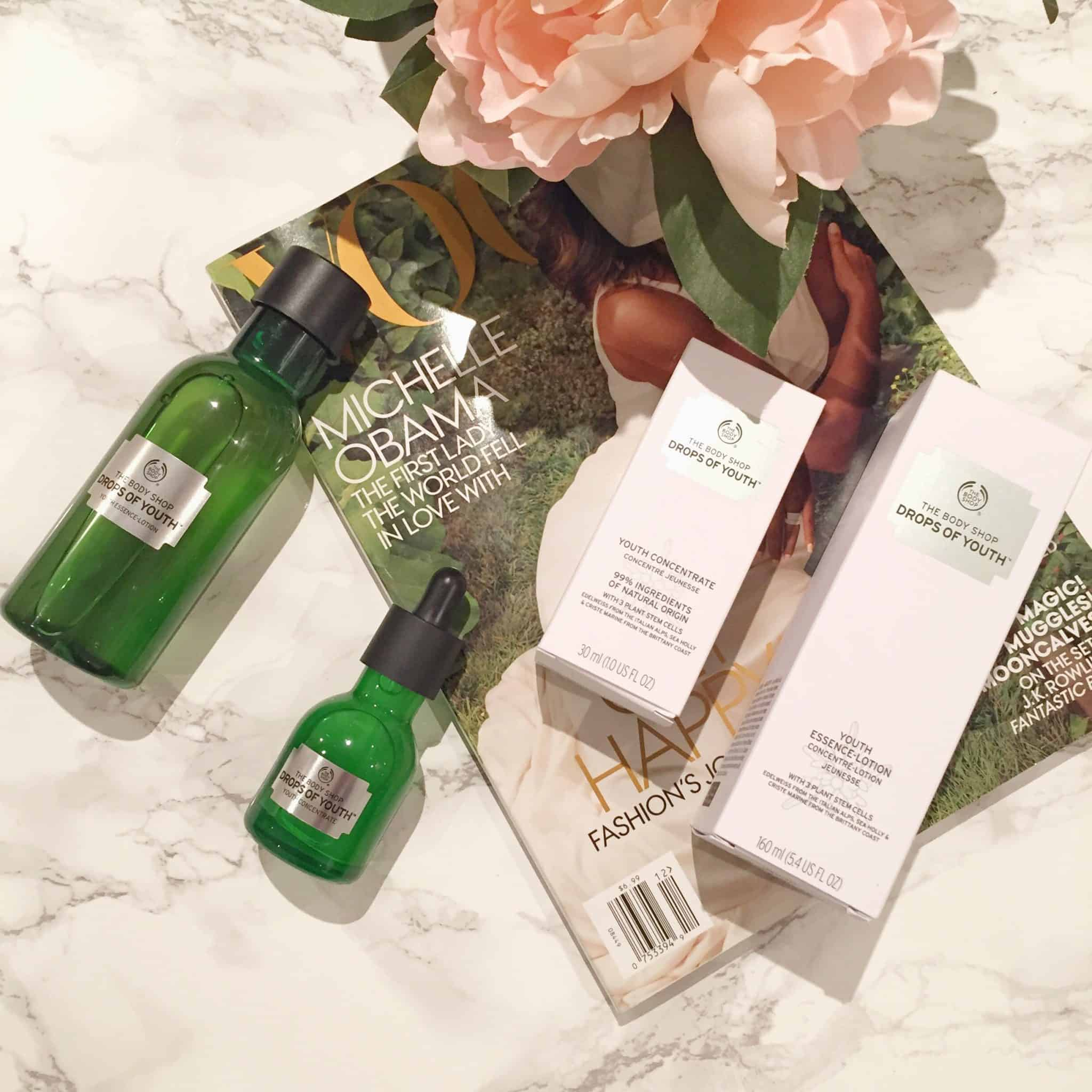 The Body Shop Drops of Youth – Smoother, Plumper, Luminous Skin