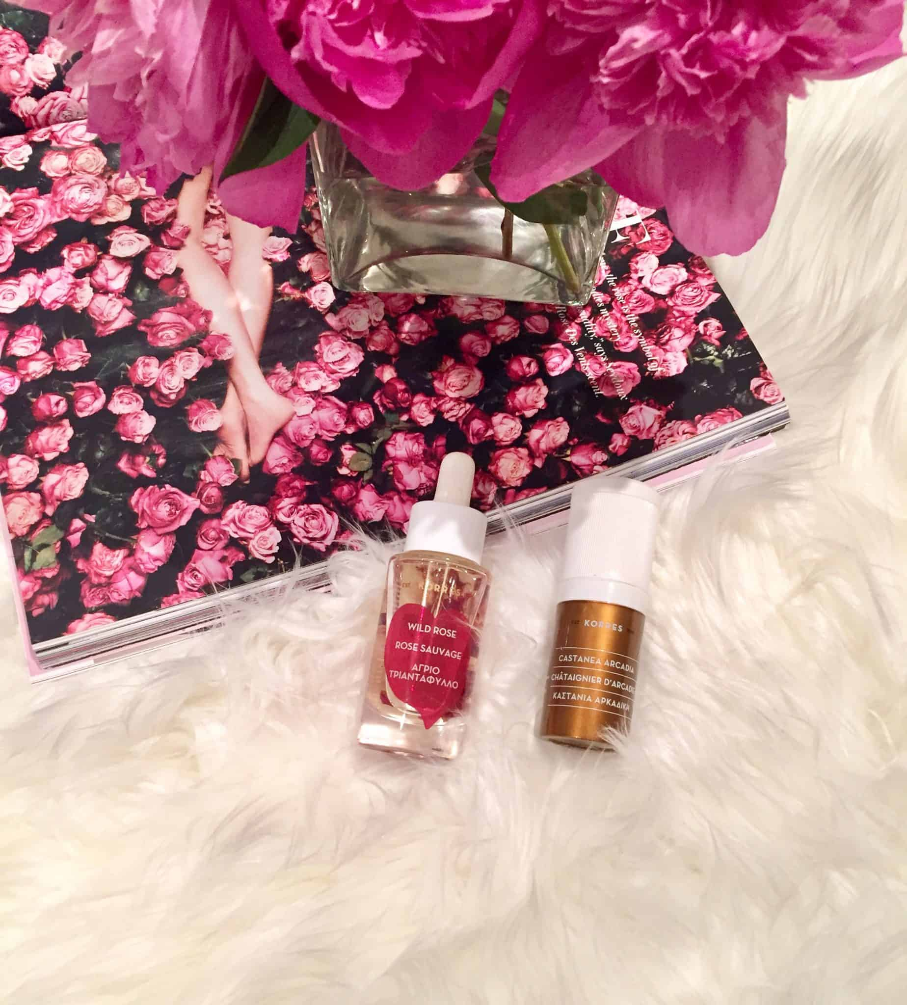 Beautify Your Skin with Korres Wild Rose Oil and Castanea Arcadia Wrinkle Rewind Eye Cream
