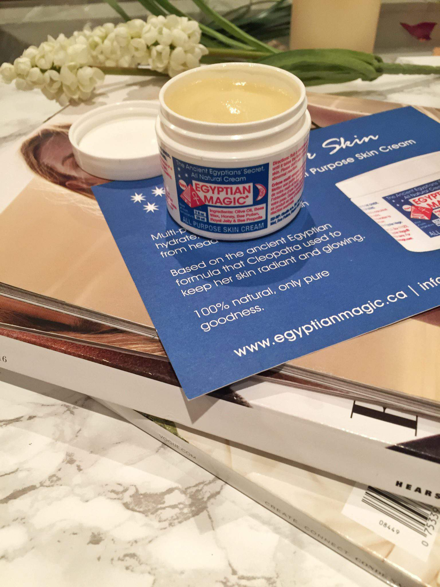 Heal Your Dry Chapped Skin With Egyptian Magic Cream