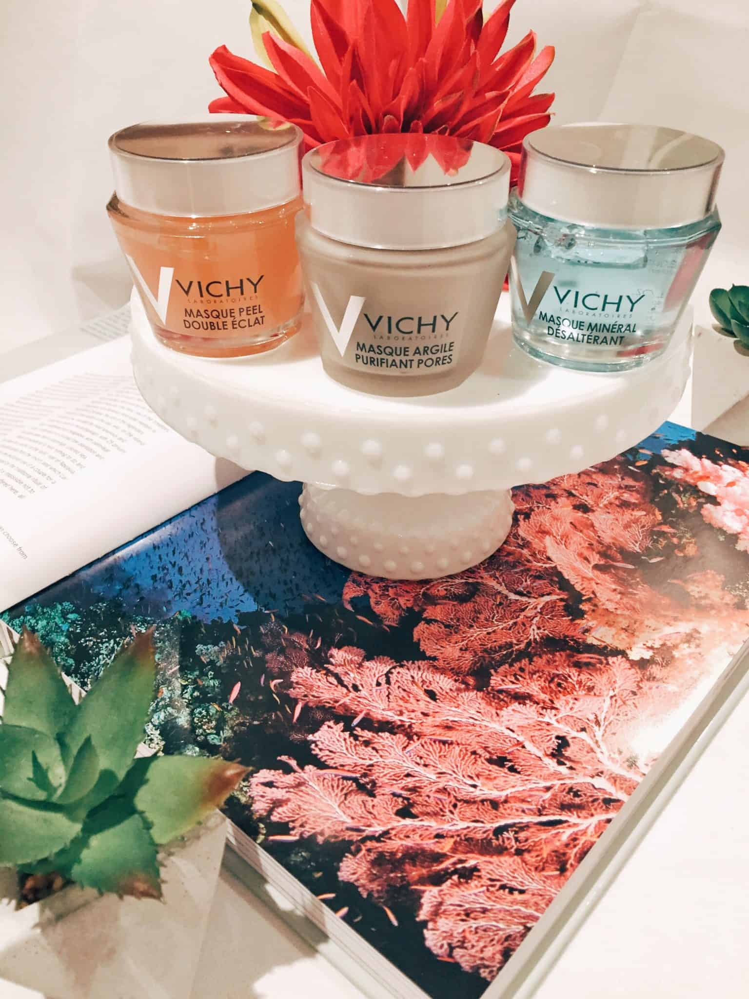A Home Spa Night with Vichy Masks