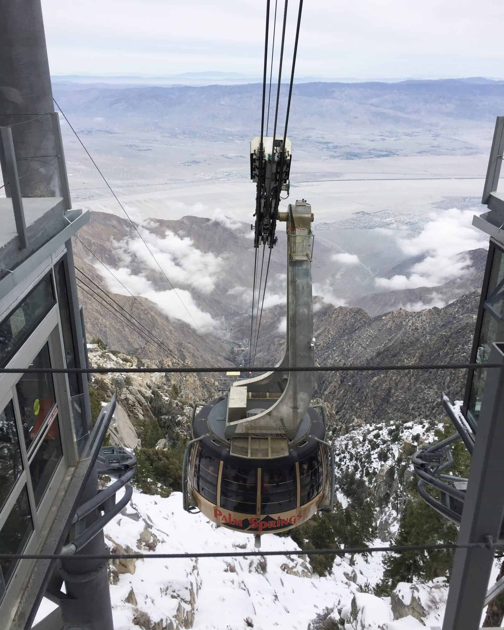 Riding the Palm Springs Aerial Tramway – Have Your Head in the Clouds