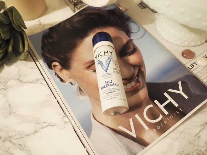 Soothe and Refresh Your Face With Vichy Mineralizing Thermal Water Spray