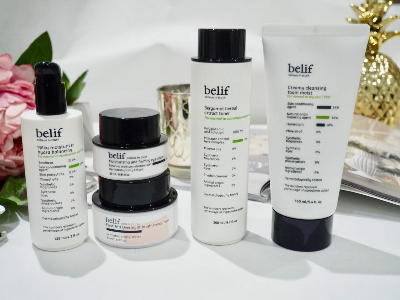 Love Yourself, Love Your Skin with belif Skincare Products