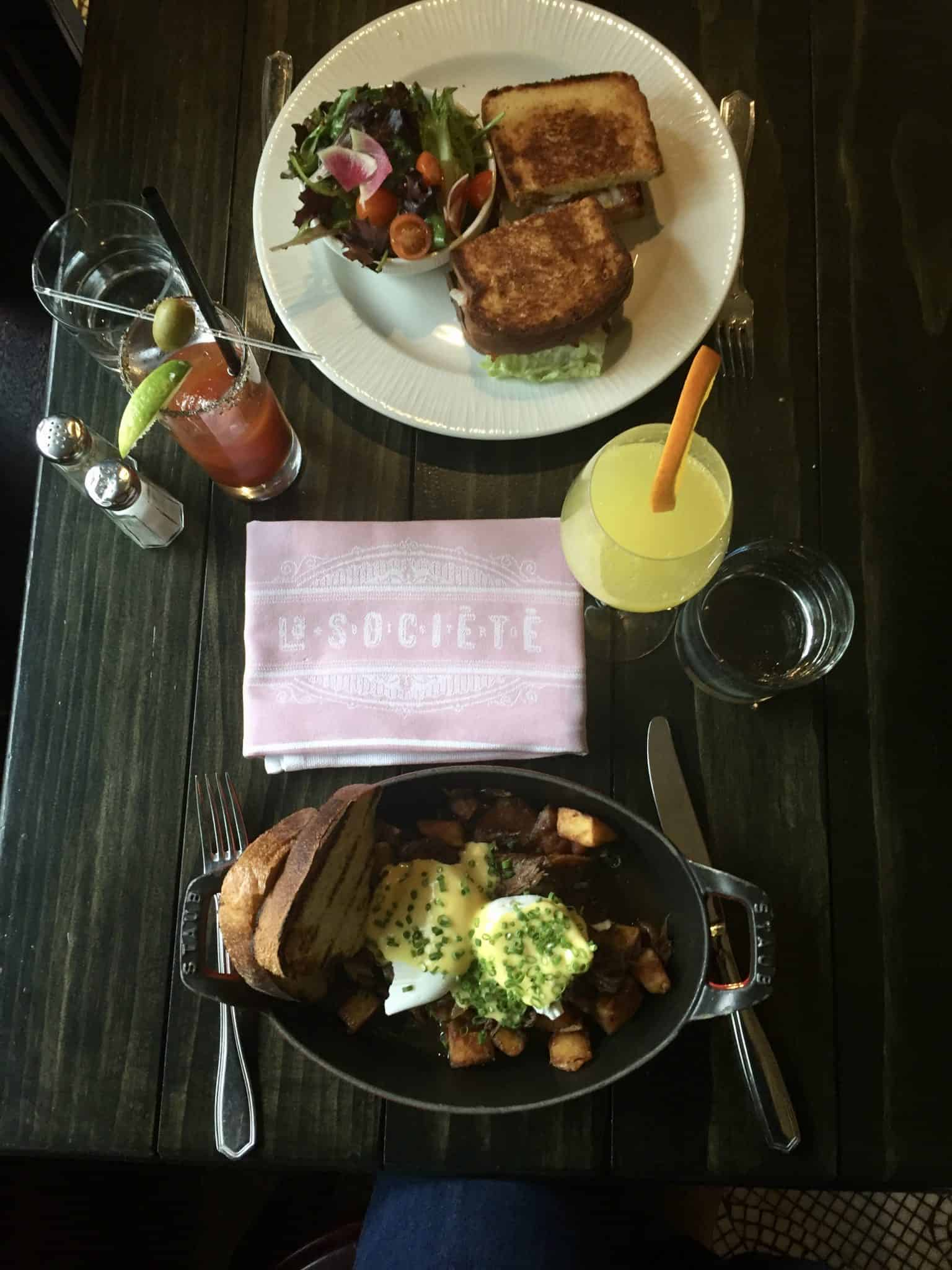 French Bistro Brunching in the Heart of Yorkville, Toronto at La Societe