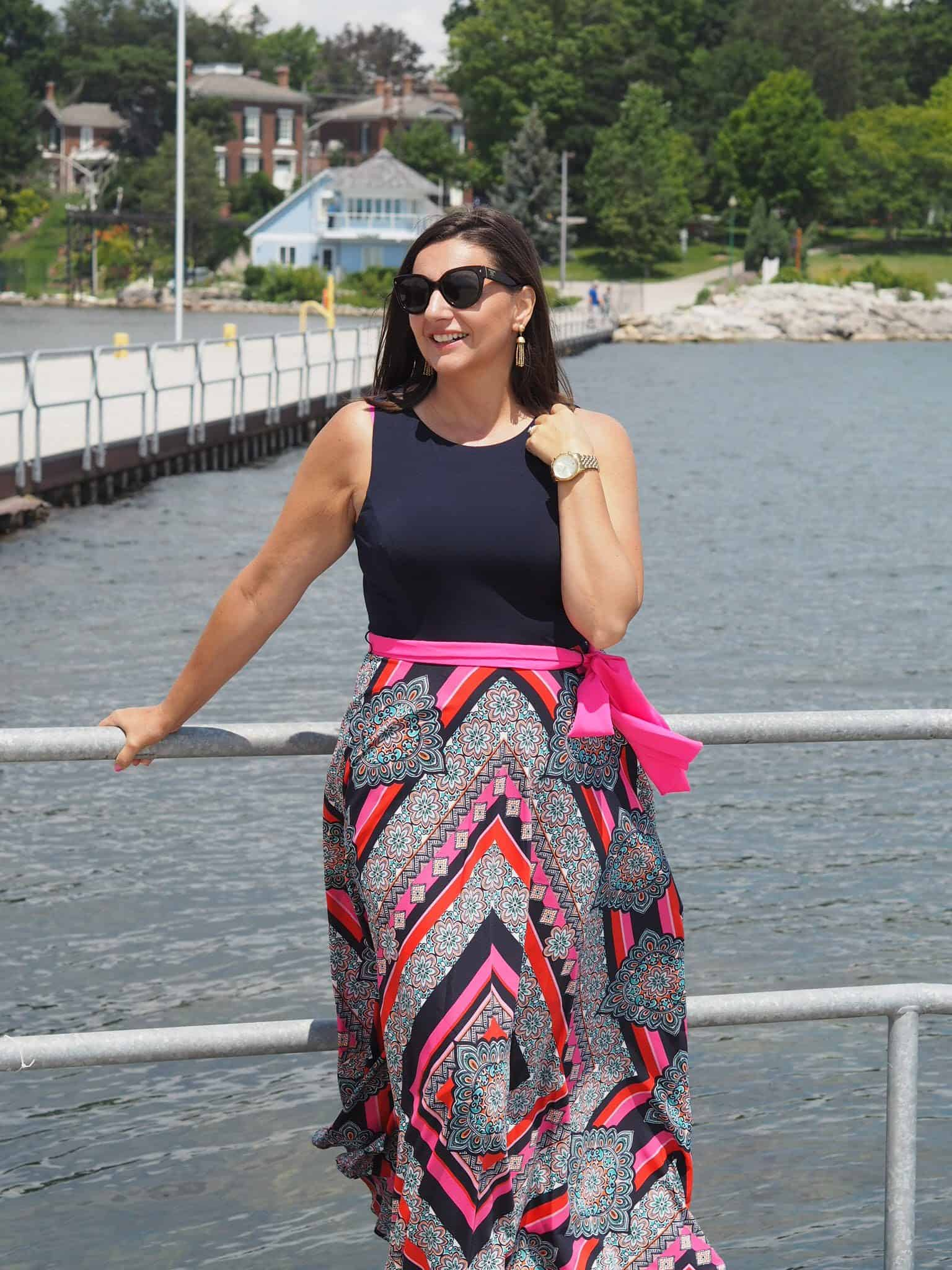 Summer Maxi Dress Eliza J