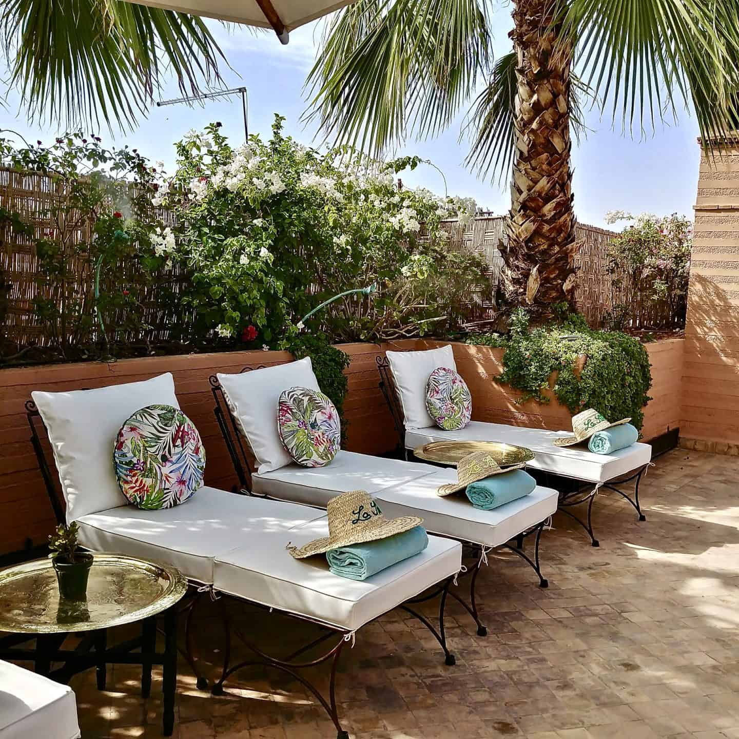 Lunch at La Sultana Hotel Marrakech