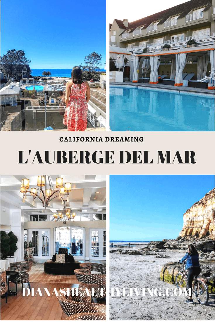 You'll be spoiled at L'Auberge Del Mar located on the California coast in Del Mar. A luxury beach getaway | USA travel | USA destinations | California travel | California destinations | Del Mar California | Del Mar California Resort | Where to stay in California | Best California hotels #california #travel
