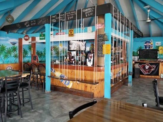 Exuma Bahamas Splash restaurant
