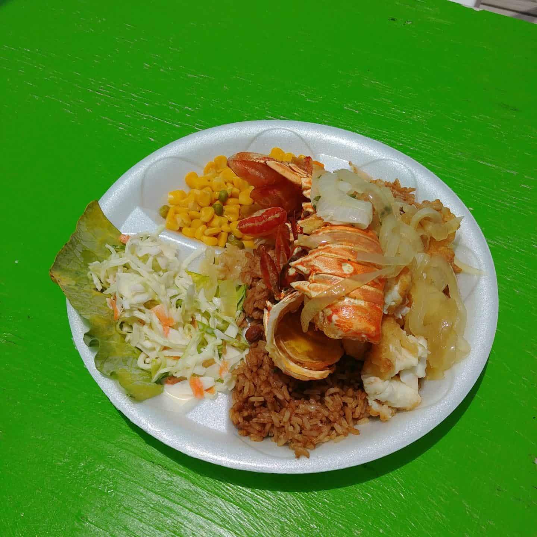 Exuma Bahamas food