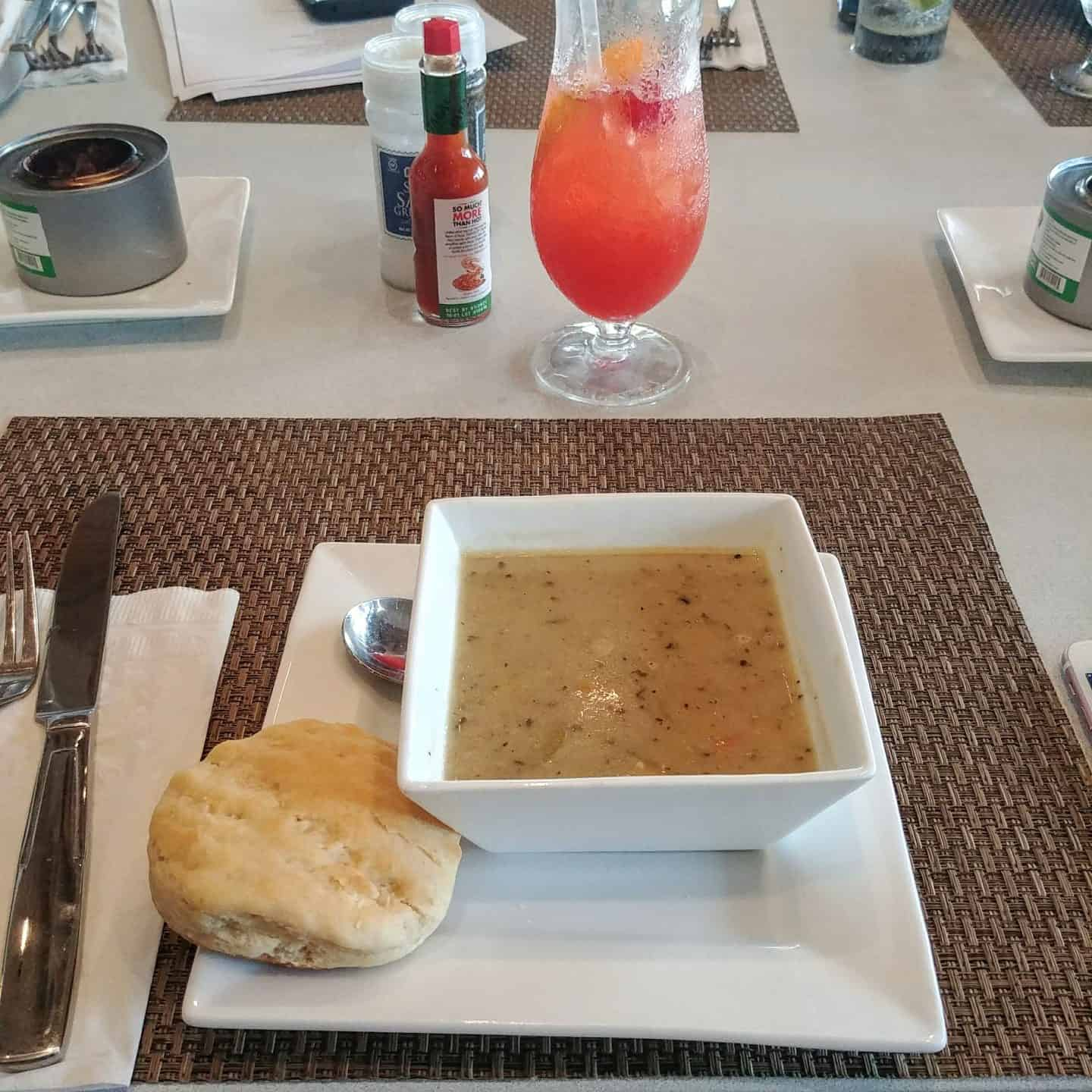 Exuma Bahamas Lunch