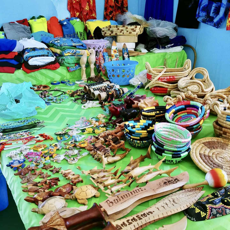 Exuma the Bahamas market