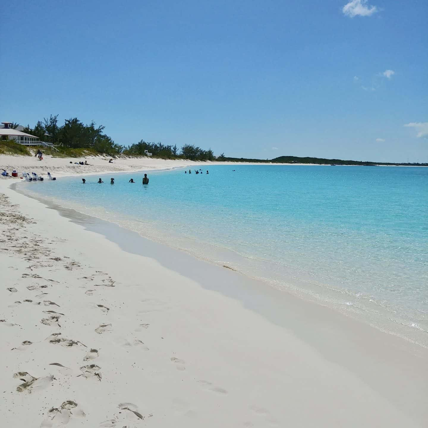 Exuma Bahamas Tropic of Cancer Beach