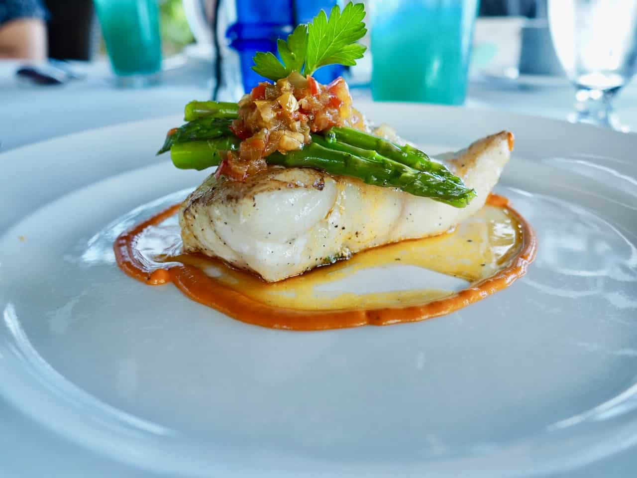 Exuma Bahamas fresh fish lunch