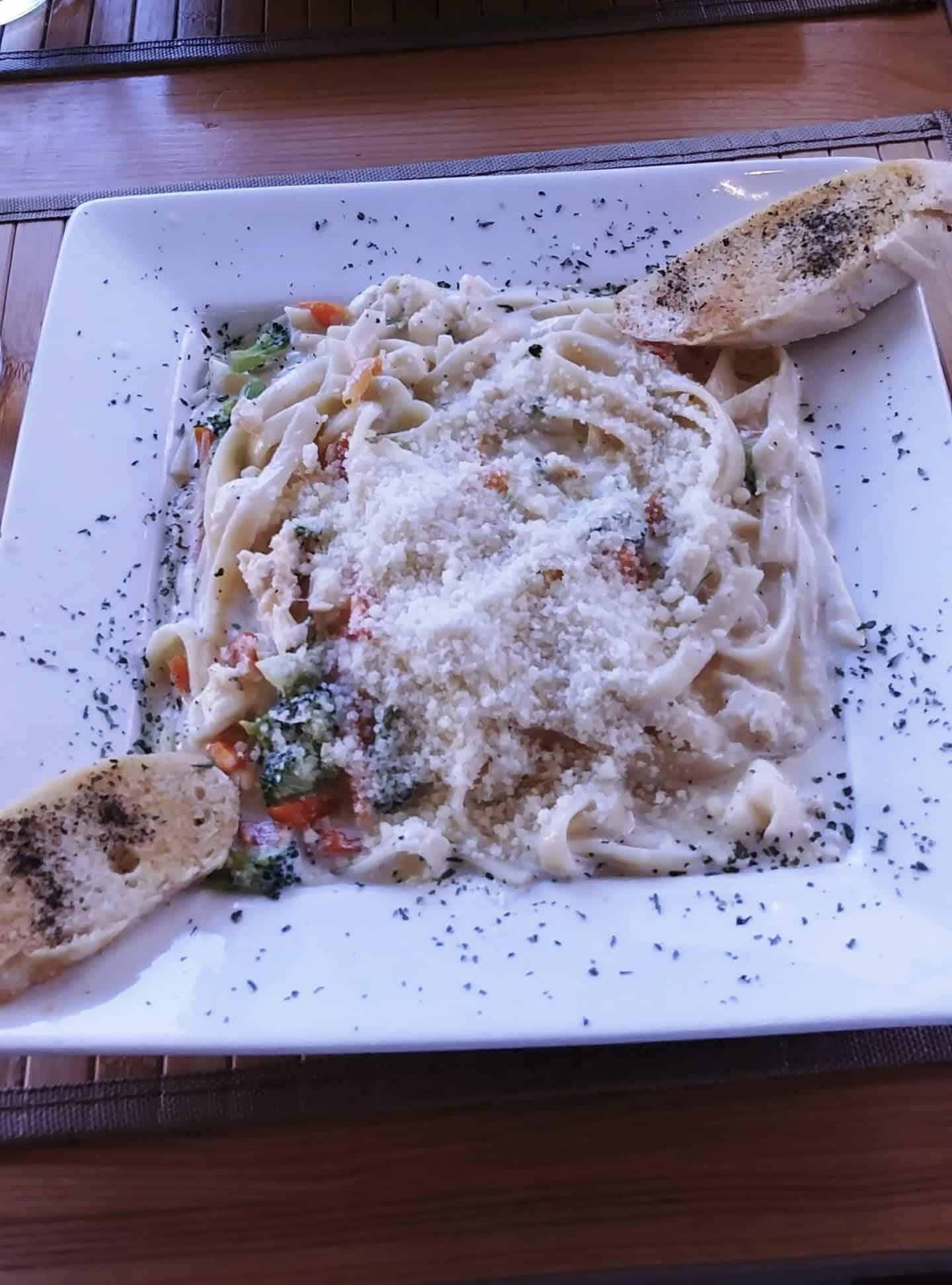 Exuma Bahamas dinner