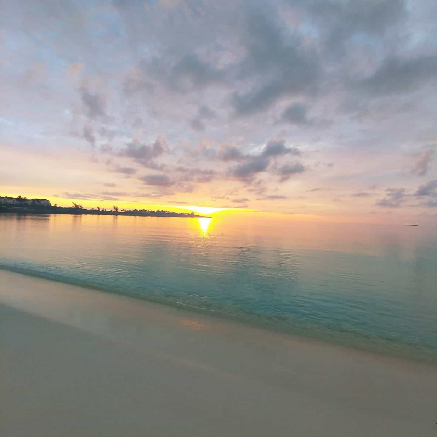 Exuma Bahamas sunset