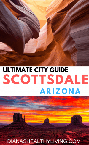 Travel Guide to Scottsdale Arizona | Where to eat, sleep and play in Scottsdale, Arizona. What is not to love between the warm temperature (okay sometimes extremely hot but it's a dry heat), the mountains and the cactus! This is my travel guide to all the places we visited on our recent trip to Scottsdale.