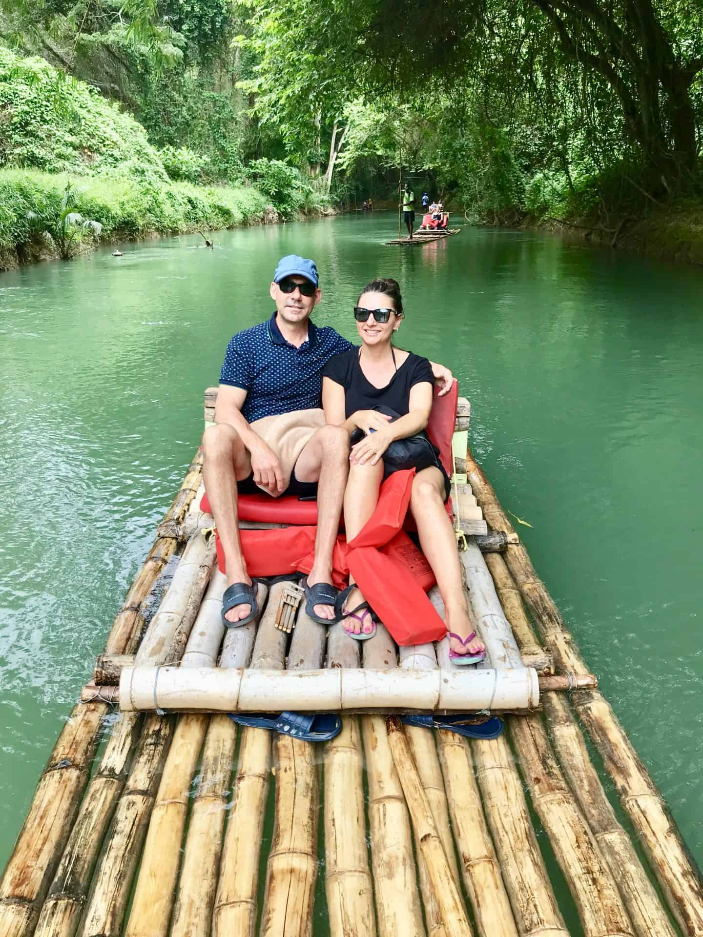 Luxury Couples Getaway - Sandals Montego Bay Jamaica River Rafting down Martha Brae River