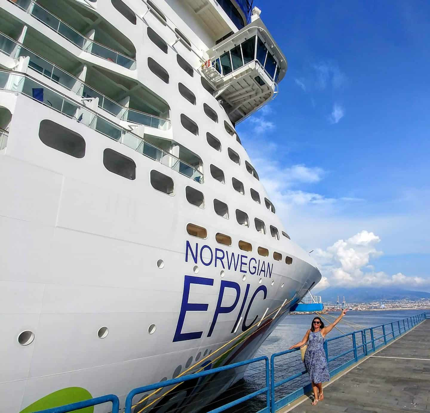 Our First Time Aboard Norwegian Epic Mediterranean Cruise