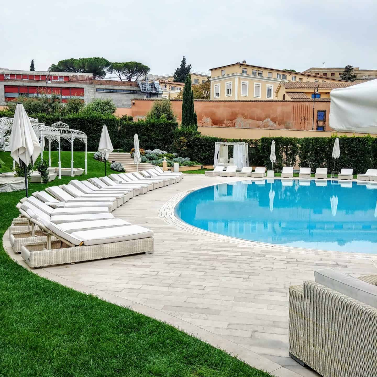 Gran Melia Rome Villa Agrippina – A Luxury Oasis in the Heart of Rome