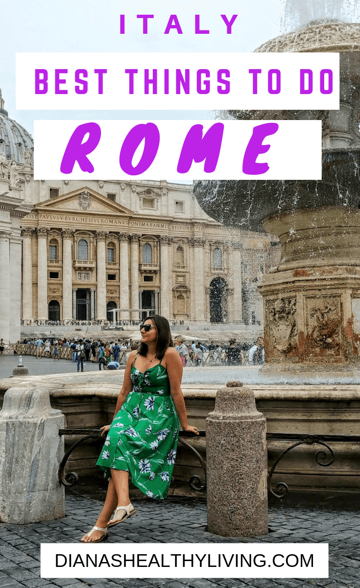 Heading to Rome? Best things to do in Rome in 2 days! Visit the Coliseum, visit the Vatican, have lunch with a view, learn how to make pasta |Rome| Rome city guide| Where to eat| What to Do