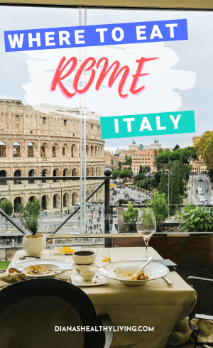Wondering where to eat in Rome, Italy? Check out some of the delicious and recommendations at some great restaurants. Delicious, authentic Italian food.