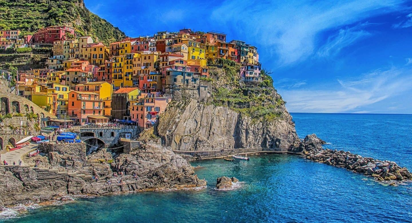 Planning a trip to Italy? Visit the most beautiful beaches of Italy in Cinque Terre. One of the most beautiful vacation spots in Italy....