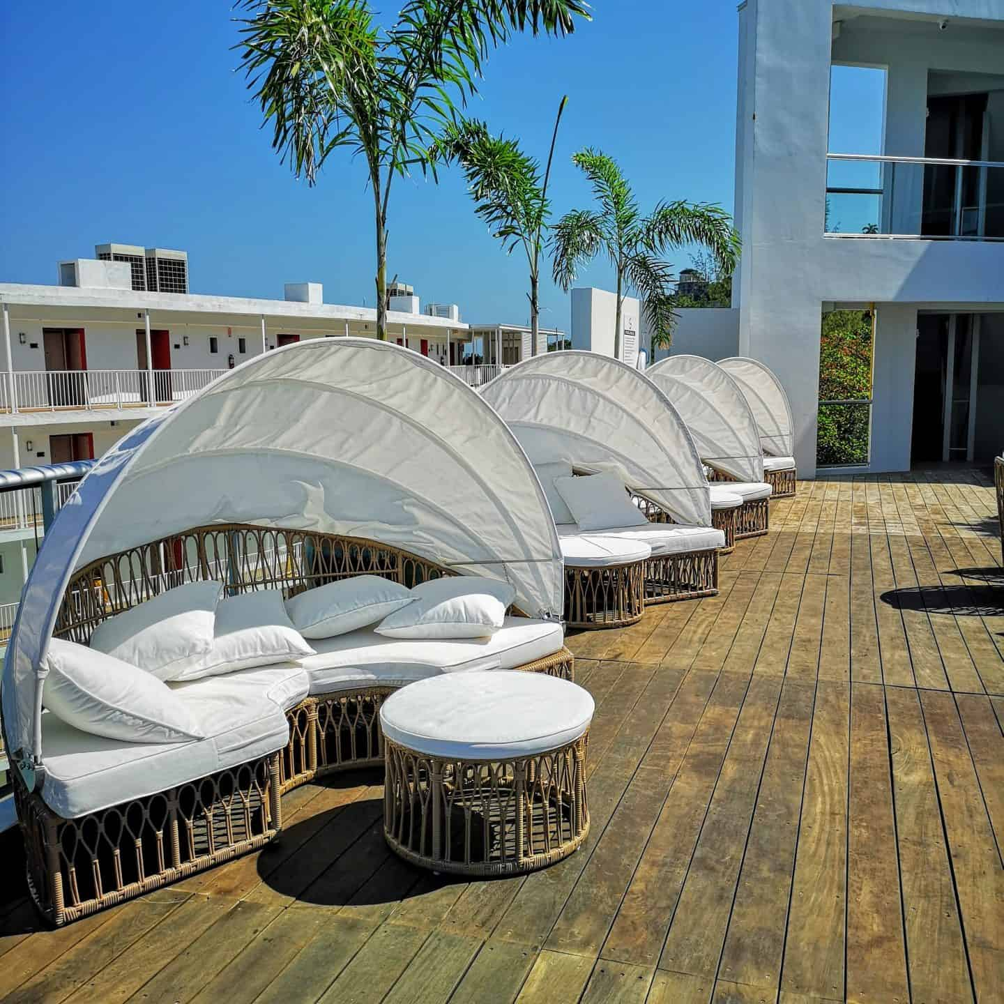 The S Hotel Jamaica Also Has An Enviable Gl Enclosed Pool Surrounded By Cabanas And Loungers Where You Will Have Best Beach Views