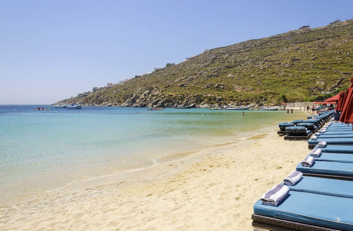 beautiful mykonos beaches