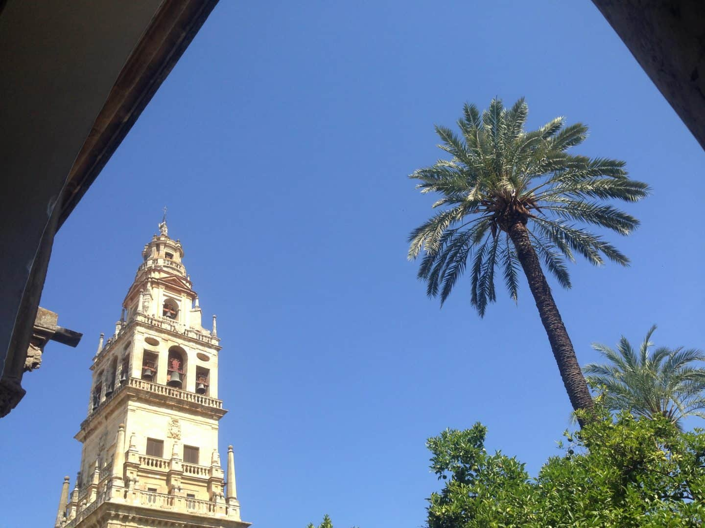 Angled view from the Mosque in Cordoba
