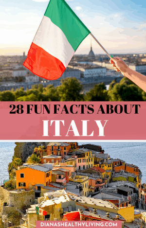 Fun facts about Italy That you may now know. Interesting facts about Italy and Italian culture including food, places, and more. #Italy #culture #ItalyFacts #italian