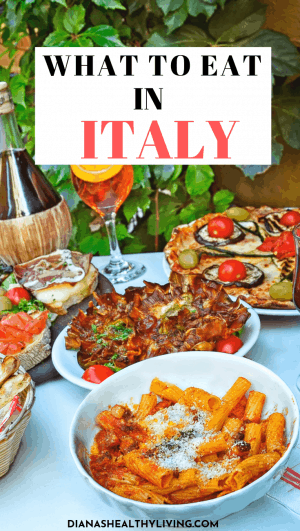 Are you heading to Italy? Here are delicious must try traditional Italian food you MUST eat while traveling in ITALY and where to eat it. Everything from pizza, pasta, lasagna, truffle, prosciuttoand so much more. Here are my favourite Italian dishes to eat next time you are in Italy the entire family will love. Eat your way through Italy. #Italy #foodie #Italyfood