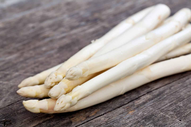 Spargel white asparagus