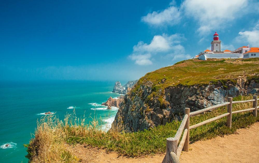 Cabo do Roca lighthouse Portugal