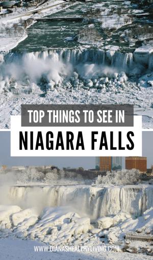 Niagara Falls Winter Niagara Falls in Winter