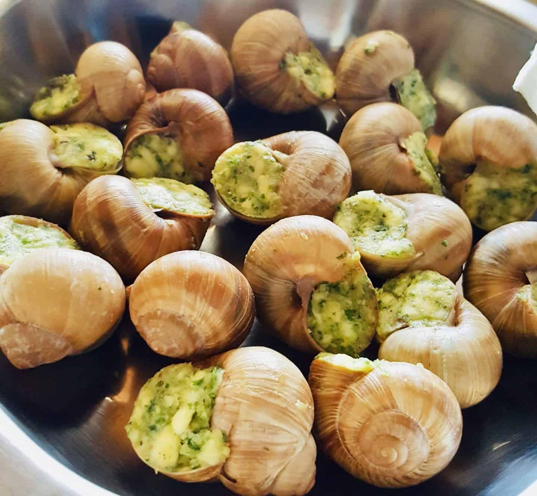 paris food escargots