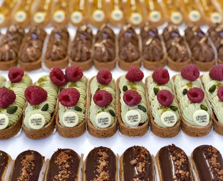 Paris Food Eclairs