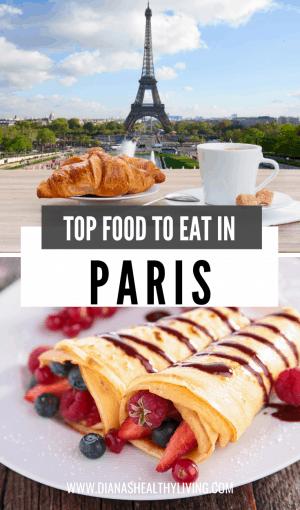 Must eat food in paris