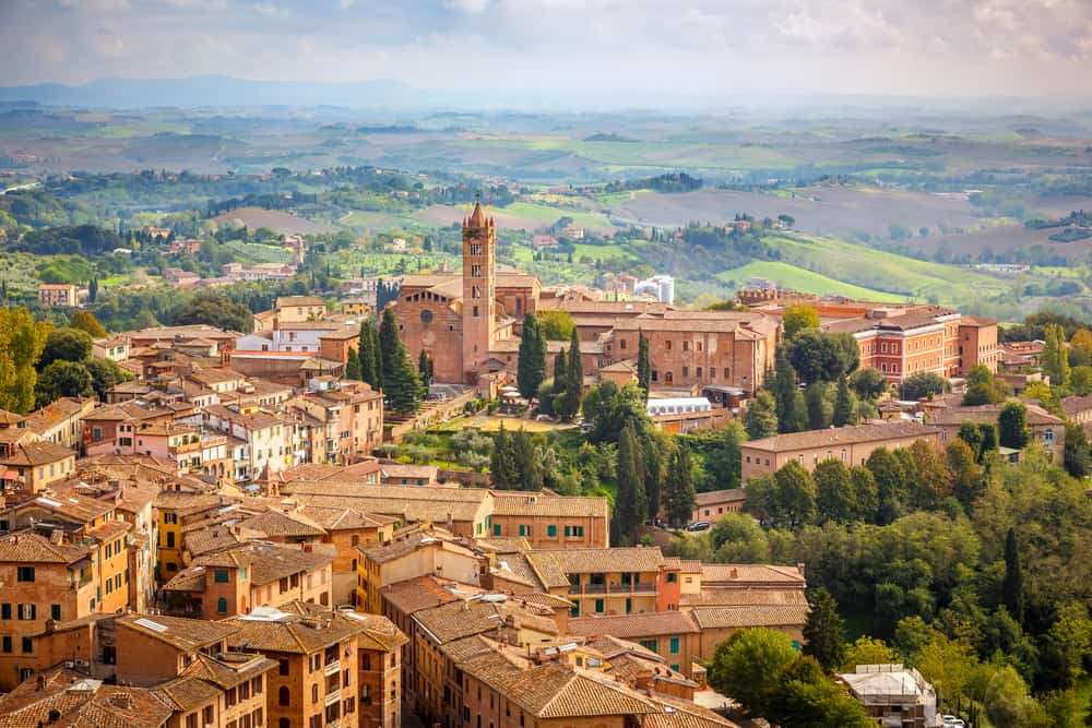 10 days in Italy Itinerary Siena Italy